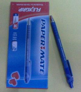 Boligrafo paper mate flexgrip azul