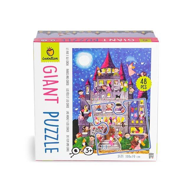 Puzzle gigante hadas y ogros 48 piezas