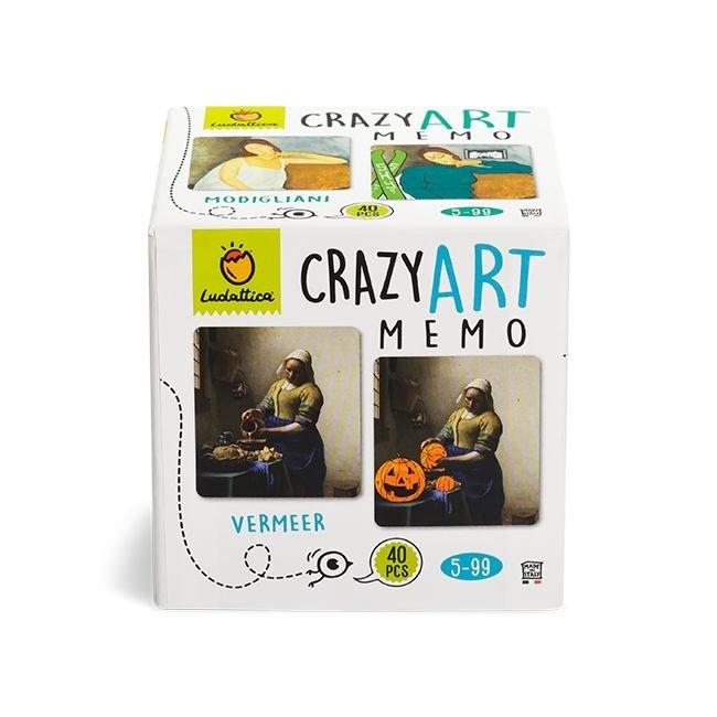 Juego memo crazy art