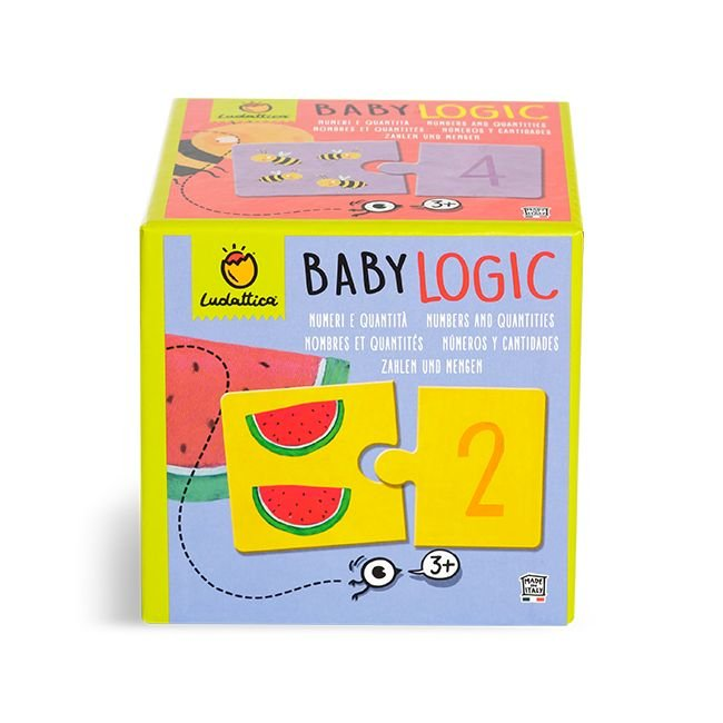 Puzzle baby logic parejas numeros y cantidades