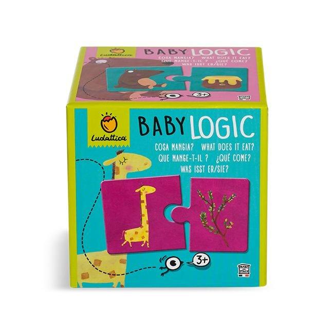 Puzzle baby logic ¿que comen?