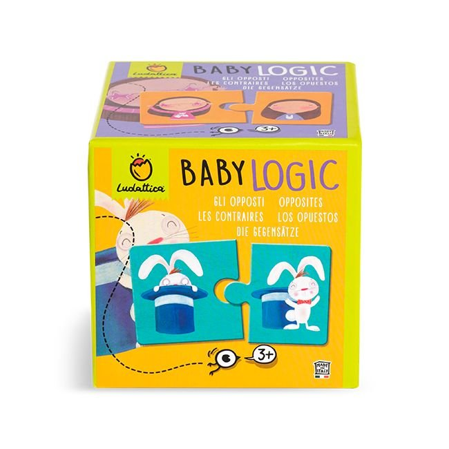 Puzzle baby logic los opuestos