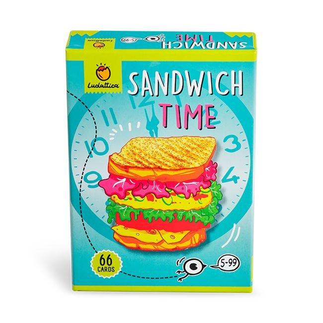Juego cartas la hora del sandwich