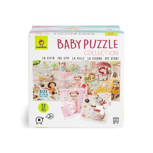 Baby puzzle collection the city 32 piezas