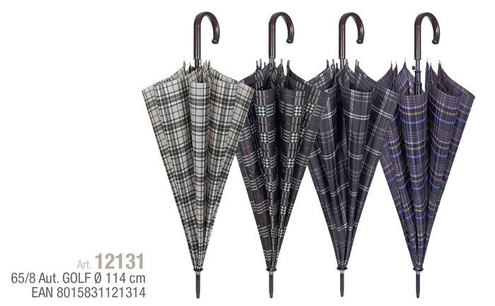 Paraguas hombre 65/8 automatico gof diseÑo escoces