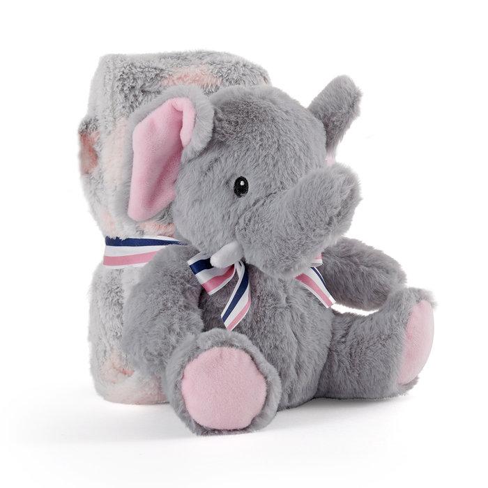 Elefante ellie peluche con manta