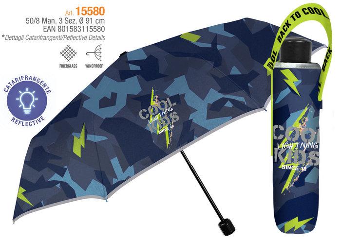 Paraguas niÑo plegable 50/8 manual  cool kids
