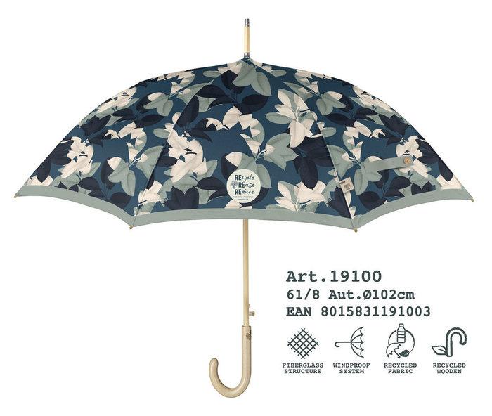 Paraguas mujer 61/8 automatico estampado material reciclado