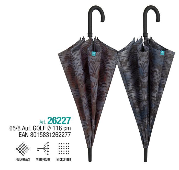 Paraguas hombre golf 65/8 automatico camuflaje