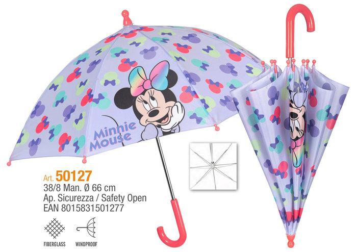 Paraguas infantil 38/8 manual minnie