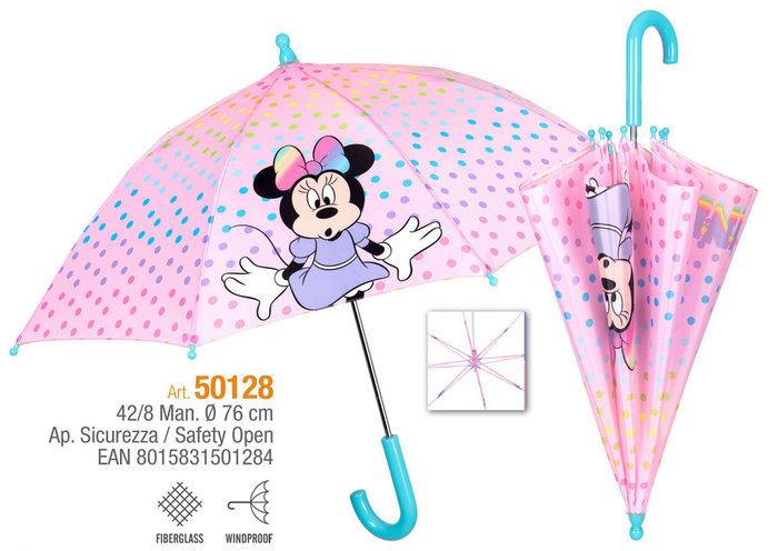 Paraguas infantil 42/8 manual minnie