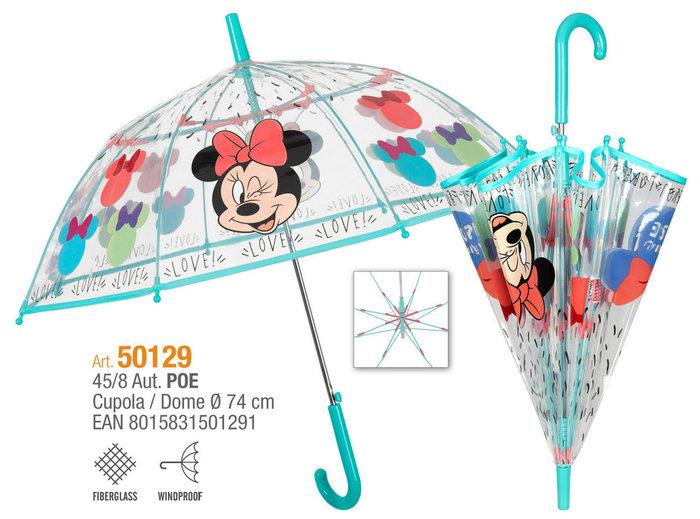 Paraguas niÑa 45/8 automatico poe minnie