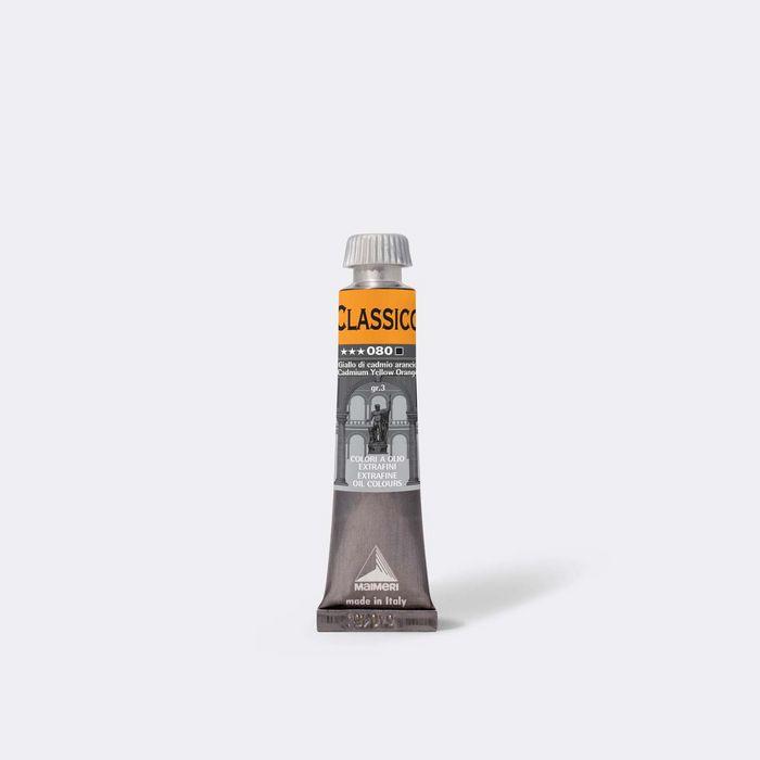 Oleo maimeri clasico 20ml amarillo cadmio naranja