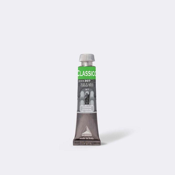 Oleo maimeri clasico 20ml verde cadmio