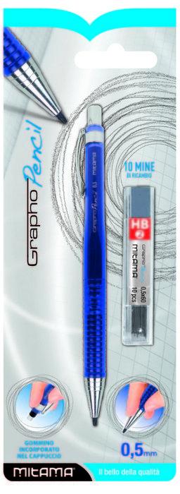 Portaminas 0.5 con 10 minas hb2