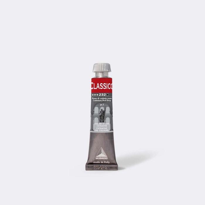 Oleo maimeri clasico 20ml rojo oscuro cadmio