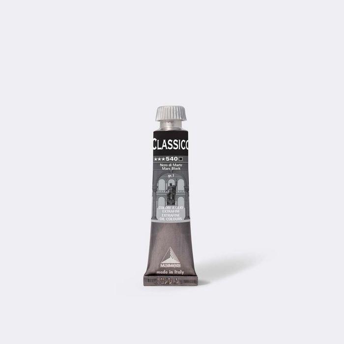 Oleo maimeri clasico 20ml negro marte