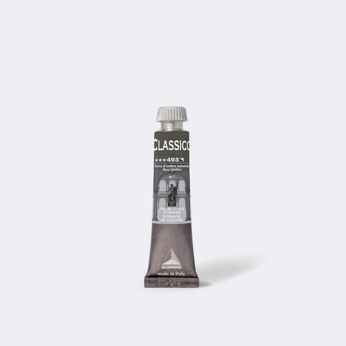 Oleo maimeri clasico 20ml tierra sombra natural