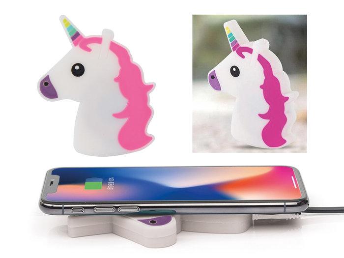 Cargador inalambrico unicornio
