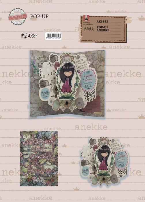 Postal 3d anekke flowers