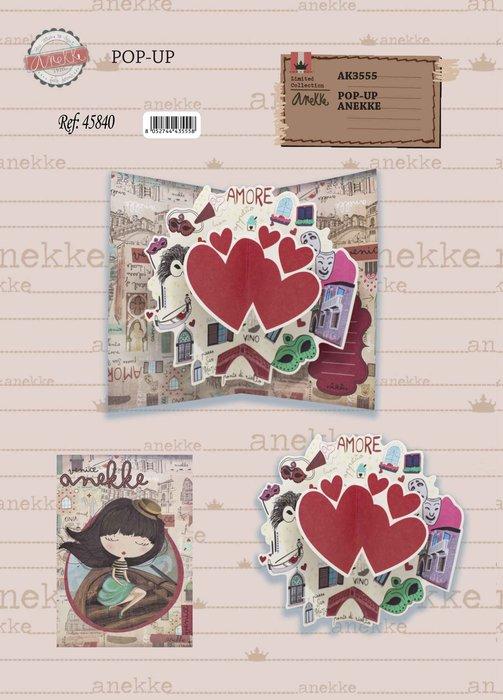 Postal 3d anekke amore