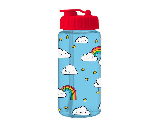 Botella de plastico infantil tritan clouds 400ml