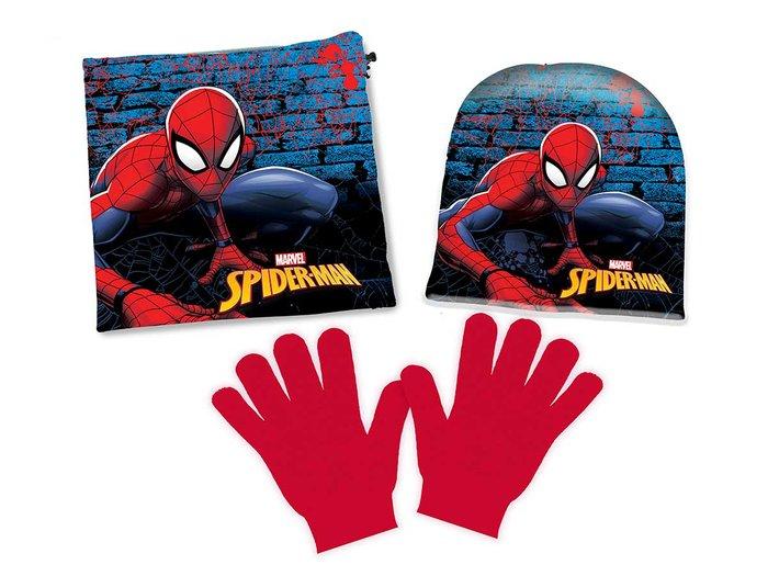 Conjunto 3 piezas spiderman