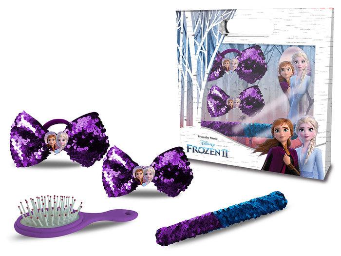 Set accesorios pelo y pulsera frozen 2