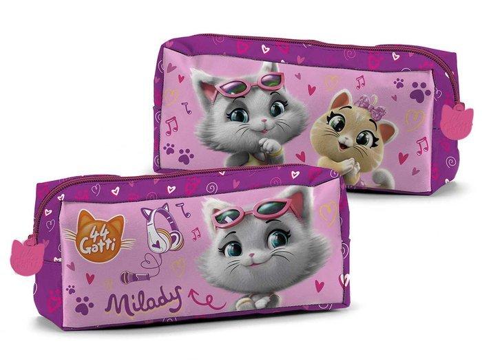 Portatodo rectangular 44 gatos