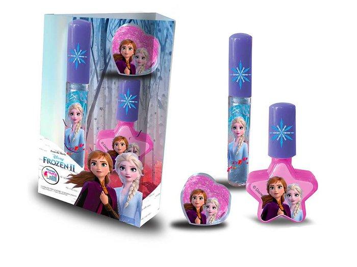 Set 2 lipgloss+1 esmalte frozen