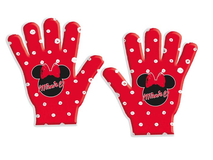 Guantes minnie