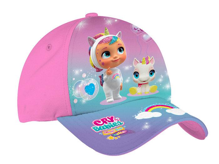 Gorra infantil bebes llorones  arcoiris