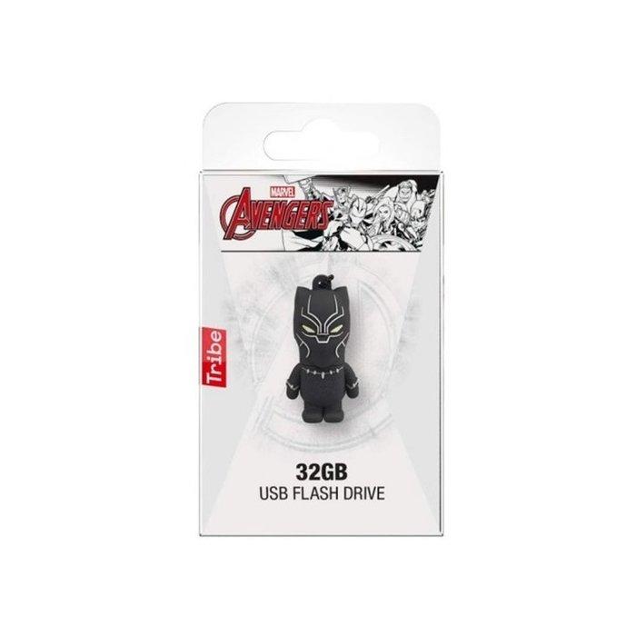 Pendrive usb 2.0 32gb pantera negra marvel