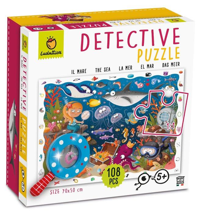 Puzzle detective el mar 48 piezas
