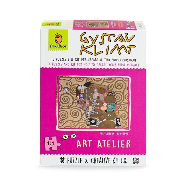 Puzle mosaico art games gustav klimt 252 piezas