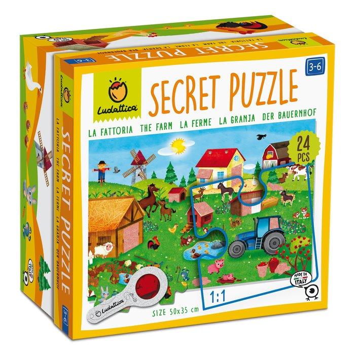 Puzzle secreto la granja