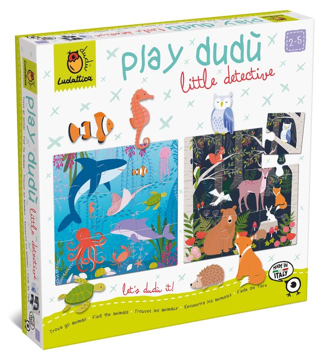 PLAY DUDU LITTLE DETECTIVE - íENCUENTRA LOS ANIMALES!