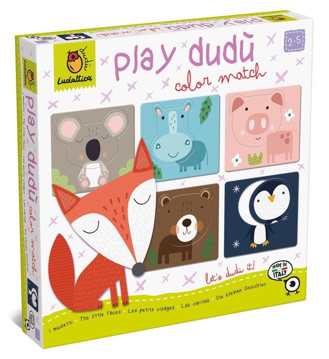 Play dudu little faces - forma y color