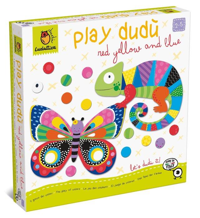 Play dudu red yellow and blue - el juego de los colores