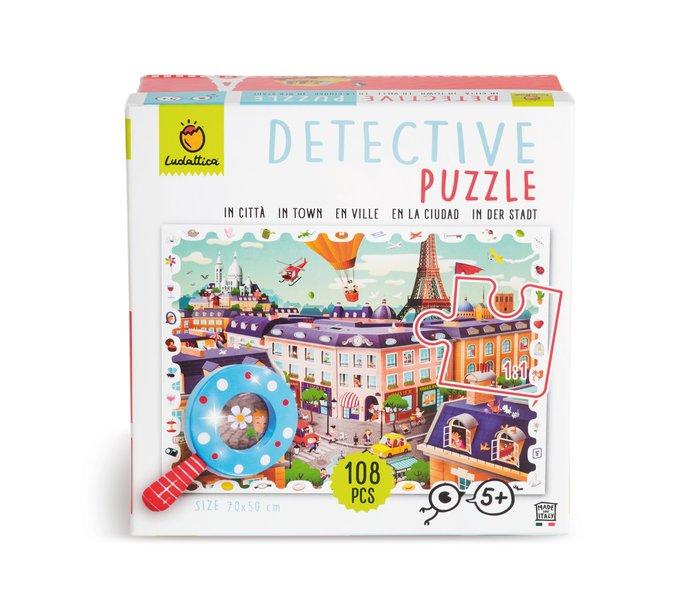 Puzzle baby detective 108 pcs - la ciudad