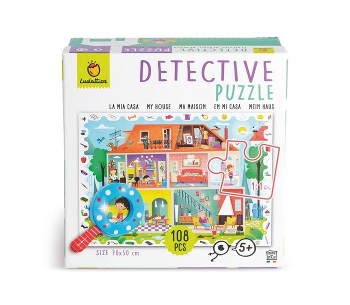 Puzzle baby detective 108 pcs - mi casa