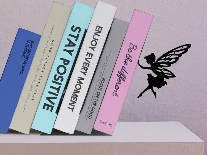 Sujetalibros metalico fairy