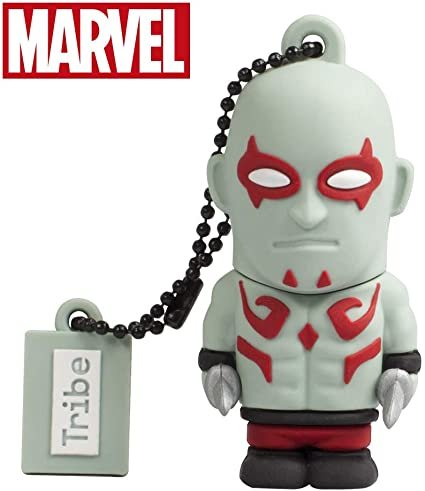 Pendrive usb 2.0 16 gb guardianes galaxias drax marvel