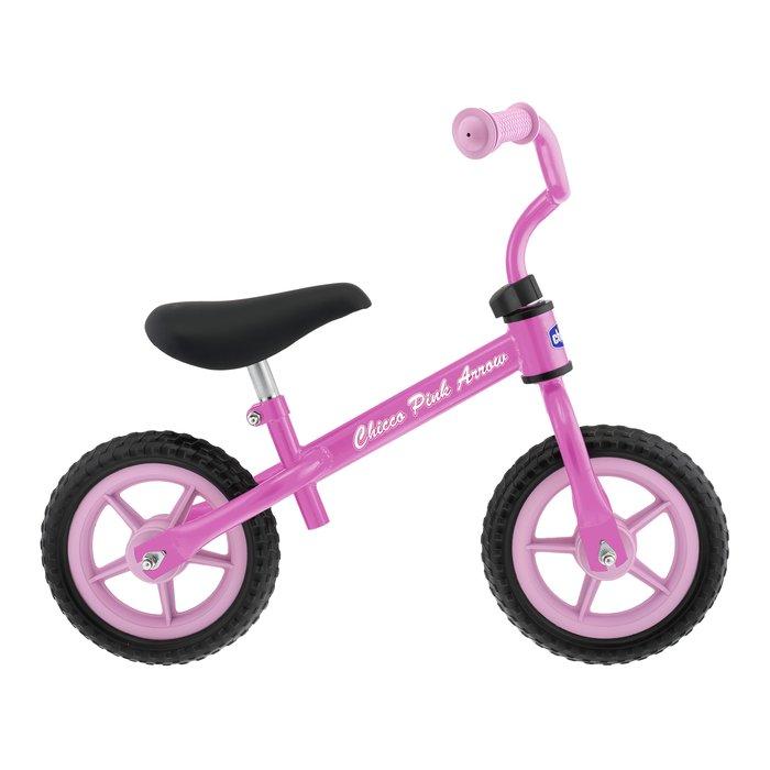 Bicicleta sin pedales first bike rosa