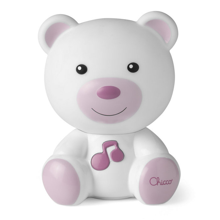 Lamparita musical dulces sueÑos rosa