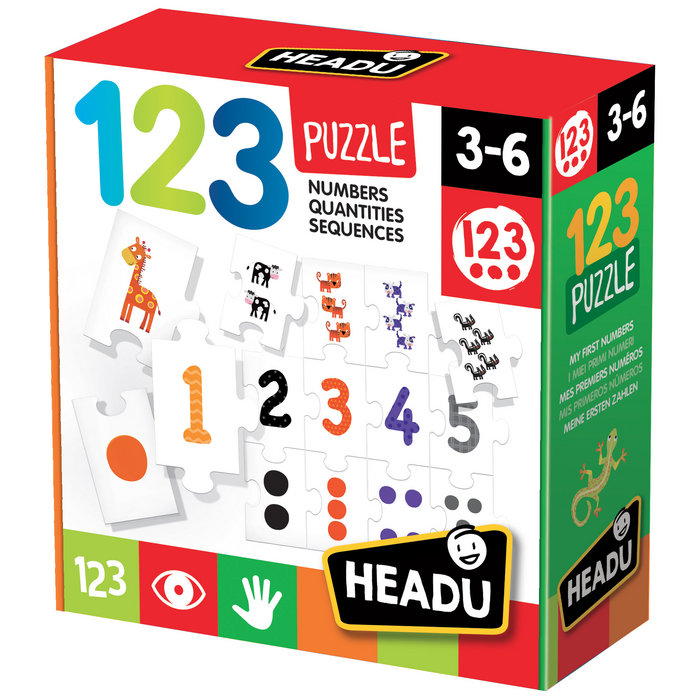 Juego headu 1 2 3 puzzle