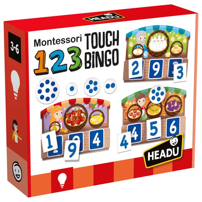 Juego headu 1 2 3 touch bingo
