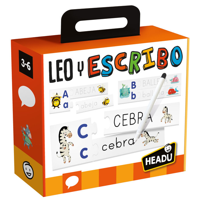 Juego headu read & write