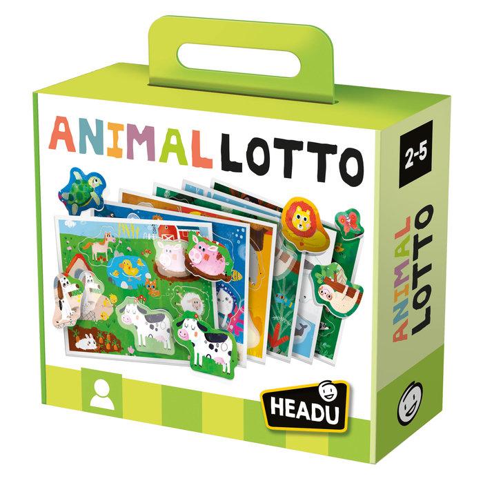 Juego educativo animal lotto montessori