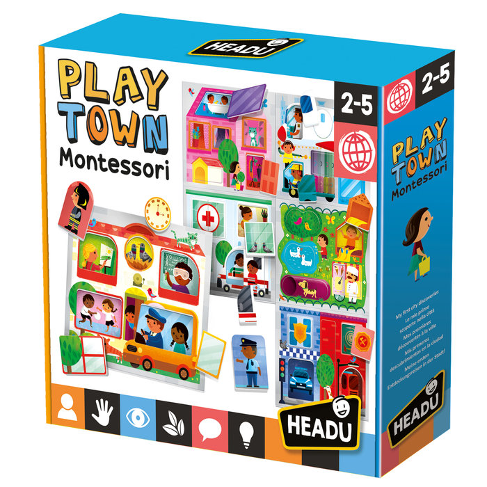 Puzzle headu play town montessori